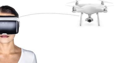 VR空拍操作實現!Zeiss VR One Plus讓你搖頭控制Phantom 4