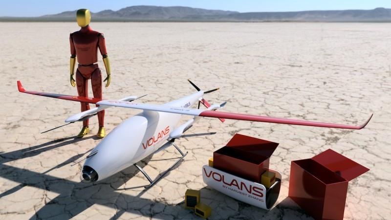 空巴 無人機 送貨 設計 比賽