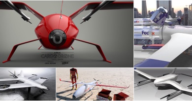 空巴精選 5 個空中貨運概念,準備研究送貨無人機?