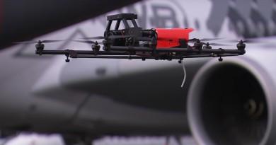 Intel RealSense 再展實力 助空巴無人機檢查民航機