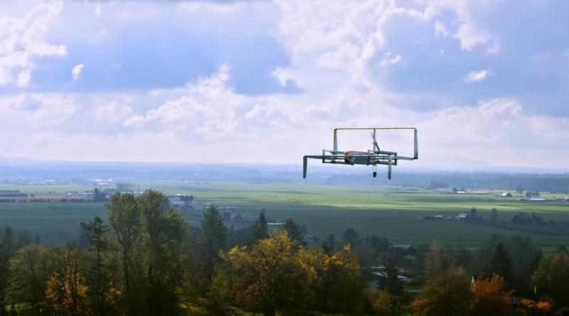 Amazon 無人機架空加油站專利曝光
