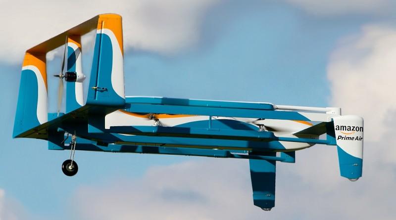 亞馬遜英國神秘地點測試送貨無人機