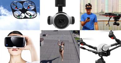 【一周熱話】無人機功能大躍進!16x 光學變焦•VR 眼鏡操控始動