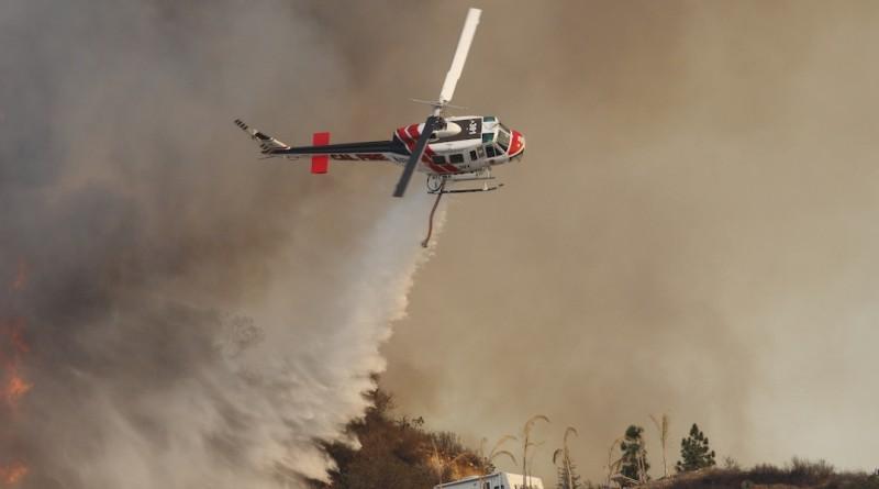 加州 美國 山火 航拍機 干擾