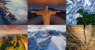 發現隱世秘地美景!航拍大賽得獎作品帶你鳥瞰雲海•雪嶺•險崖