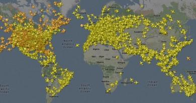 全球飛行器無所遁形!Flightradar24 讓你網上實時追蹤無人機