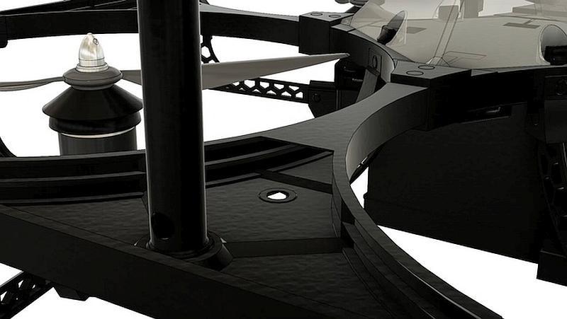 SurroundFrame 防撞框架由 3D 打印技術,以碳纖物料打印而成,有效抵禦撞擊。