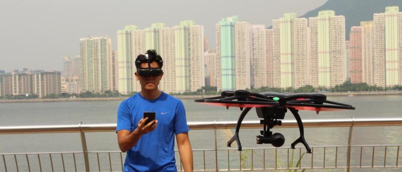 Ehang Ghostdrone 2.0 空拍機體感測試