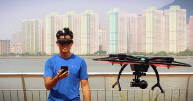 搖頭•揮手體感操控!Ehang GhostDrone 2.0 飛行航拍全測試