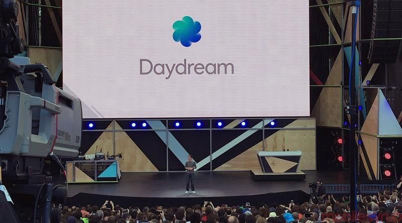 2016 年 5 月舉行的 Google I/O 開發者大會上,Google 正式發表手機 VR 平台 DayDream。