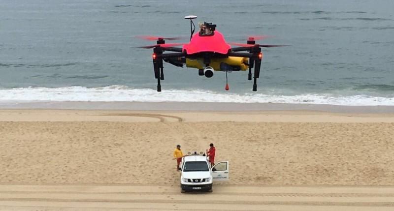 HELPER 無人機已在法國的 Biscarosse 沙灘進行試飛測試。