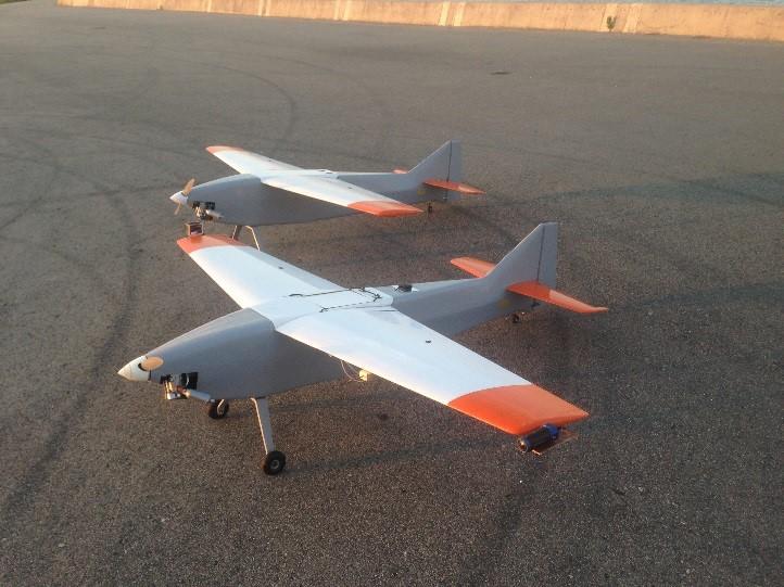 日立正在美國測試用定翼無人機進行測量。(Terra Drone 提供)