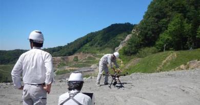 日立•Terra Drone 聯手 無人機空中測量北海道礦場