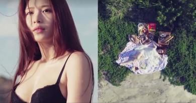 雞排妹寫真集挑戰極限 空拍機飛入沖繩拍攝美人美景