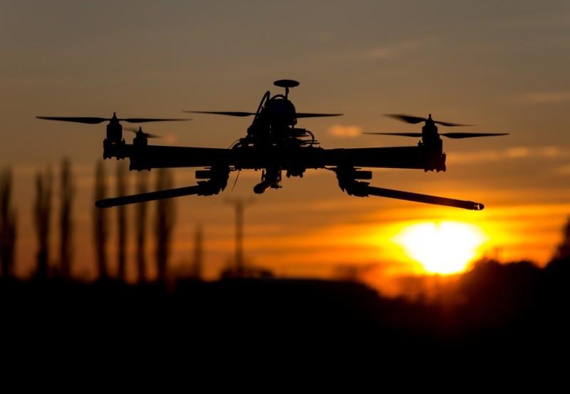 伊斯蘭國用無人機作空中偵察。
