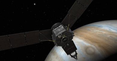 朱諾號無人探測船 5 年飛越 27 億公里 終成功進入木星軌道!
