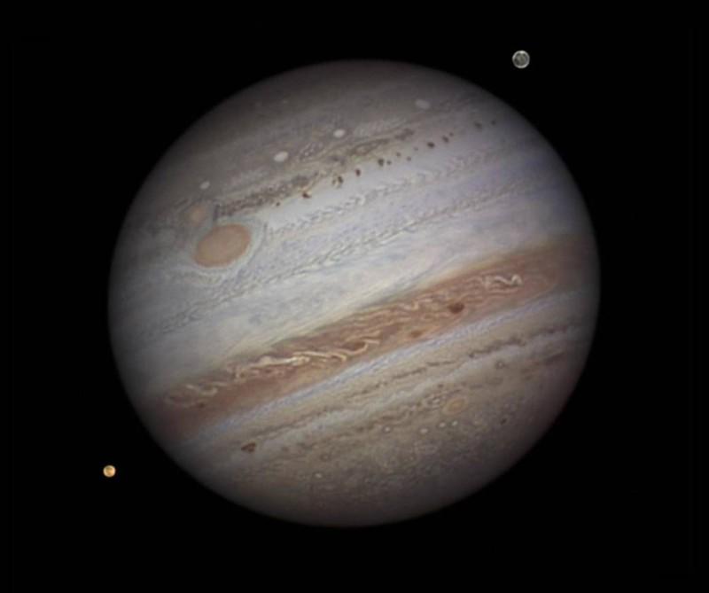 木星是太陽系最大的行星。(圖片來源:NASA 官網)