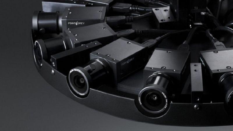 Live Planet Camera 配備 16 組鏡頭,可環繞拍攝 360 度全景影像。