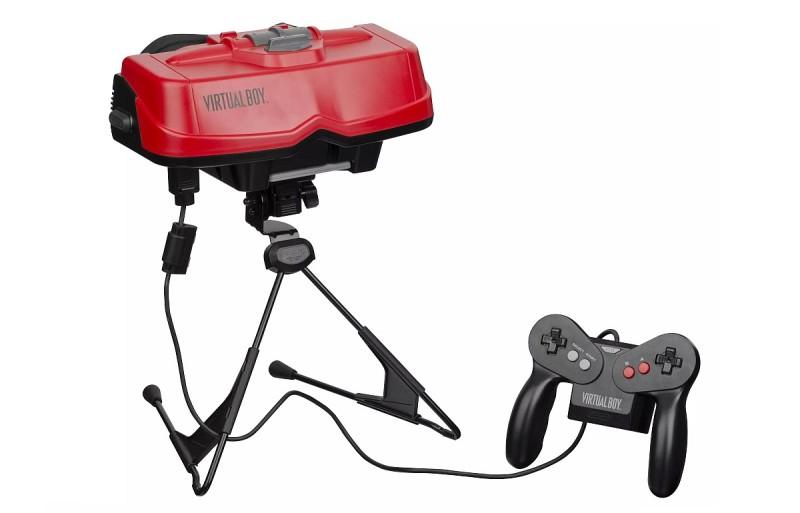 任天堂於 80 年代曾開發第一代 VR 遊戲產品 Virtual Boy,但鑑於當時 VR 技術尚未成熟,結果不為市場所接受。