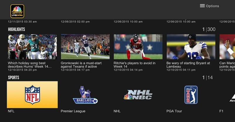 利用《NBC Sports》app 再搭配 Gear VR 眼鏡,用戶便能夠收看VR 奧運影像,不過需要登記和付費。