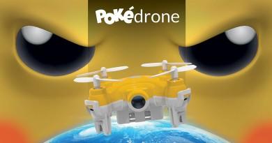 Pokémon GO最強配件?Pokédrone專捕神奇寶貝,惟效用成疑