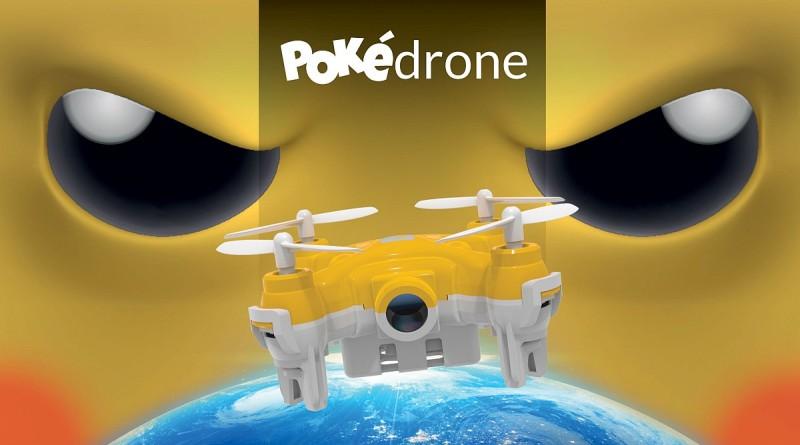 Pokémon GO 概念無人機 Pokedrone 專捉神奇寶貝