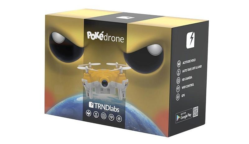 TRNDlabs 虛構的 Pokédrone 包裝盒,設計亦算精美。