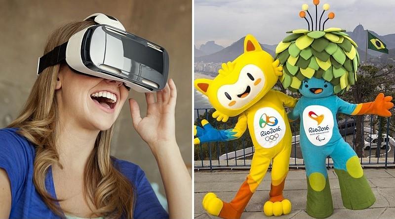 Samsung Gear VR 眼鏡帶你體驗奧運