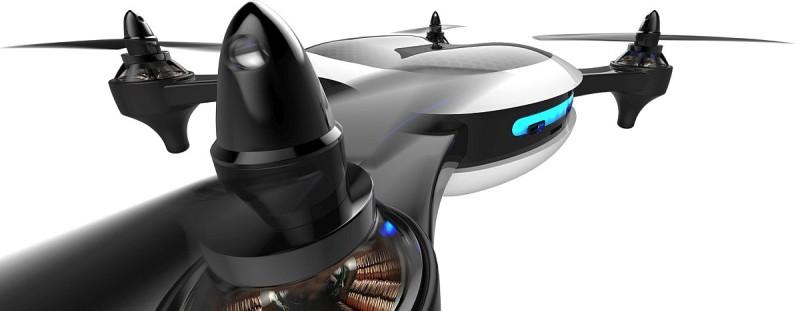 Teal 空拍機採用 4 旋翼結構,廠方聲稱飛行時速可達 70 哩(112 公里)。