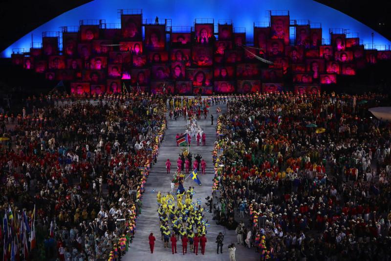 奧運開幕禮座無虛席,一旦無人機墜落不堪設想。