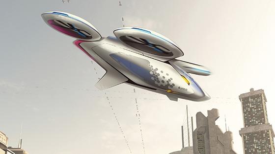 Airbus CityAirbus 概念圖