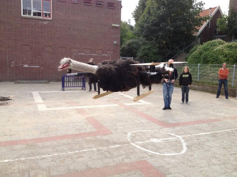 Bart Jansen - Copter Company - OstrichCopter