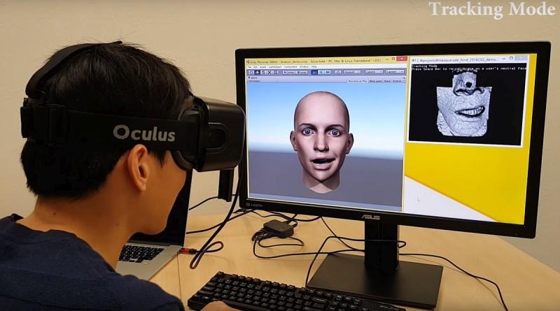 BinaryVR 眼鏡配件熱玩臉部識別技術