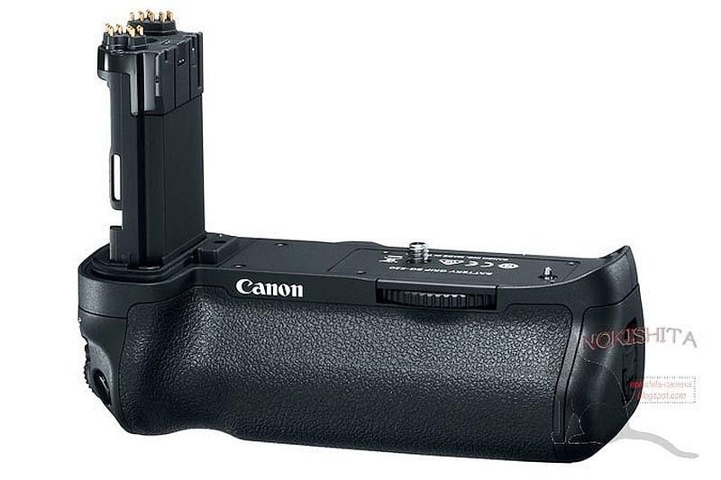 疑似是 Canon 5D Mark IV 直度電池手柄「BG-E20」