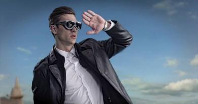 全球最輕 VR 眼鏡!Dlodlo V1 超酷墨鏡造型•88 克碳纖機身