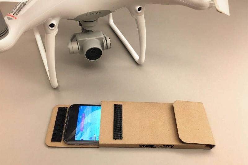 DroneMonSky 手機紙盒