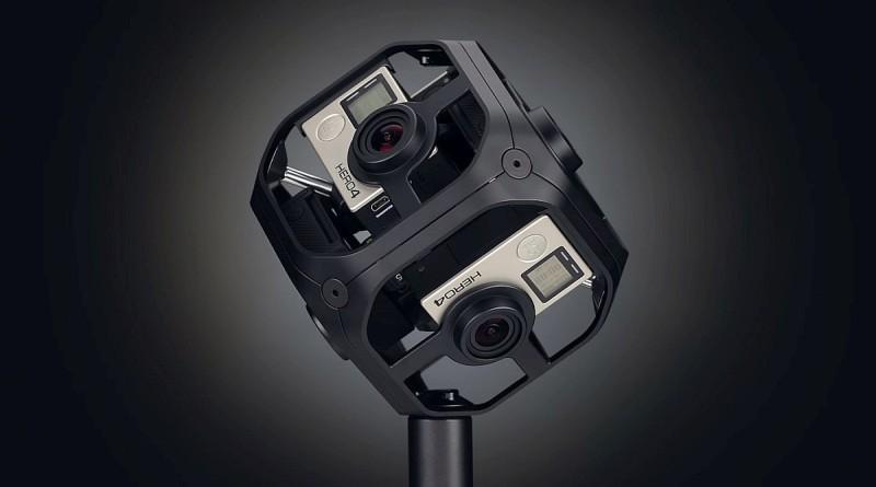 GoPro Omni VR 攝影機套裝由 6 部 Hero 4 Black 及金屬框合併為立方體形的攝影器材,以供拍攝全方位的 VR 影像,將於 8 月 17 日正式出貨。