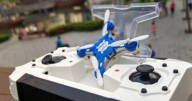 遙控器收納四軸機•直接充電!Sbego FQ777-124 實力評測