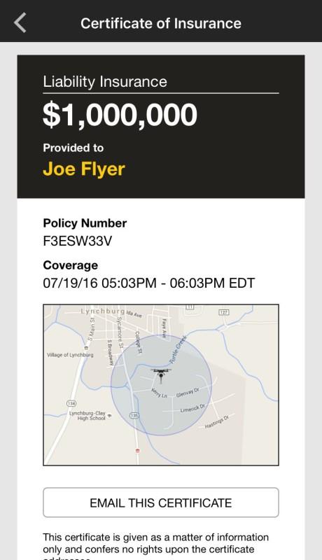 《Verifly》保險 app:確認保單
