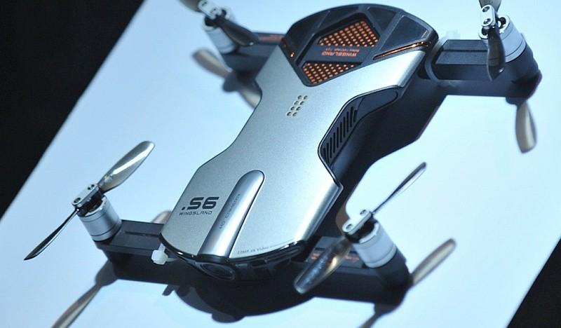 Wingsland S6 具有 1,300 萬拍攝像素航拍鏡頭,可拍攝 4K 超高清影片。