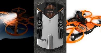 比Dobby更好玩!Wingsland S6模組合體變身飛行砲台•探照燈