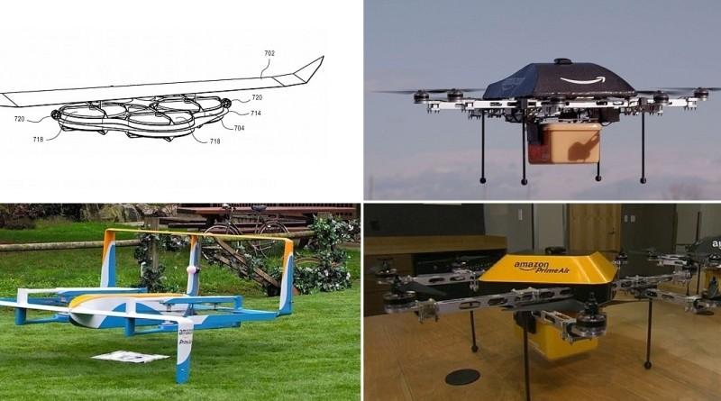 Amazon 無人機初代設計曝光