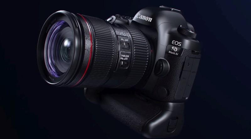Canon EOS 5D Mark IV 正式發布