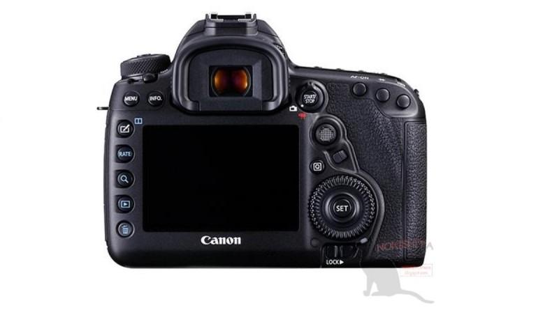 Canon EOS 5D Mark IV 機背的按鍵排列同樣沒有太大變化。