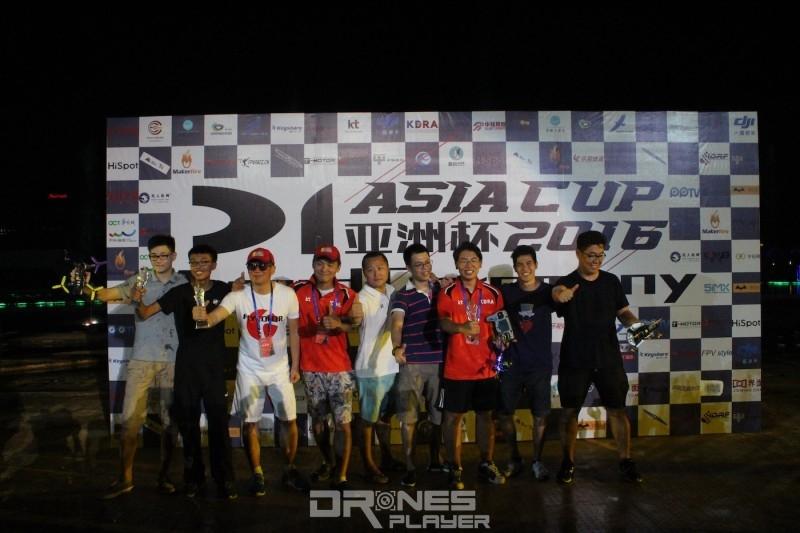 D1 亞洲盃由韓國隊包攬冠軍和季軍,亞軍由深圳隊奪得。