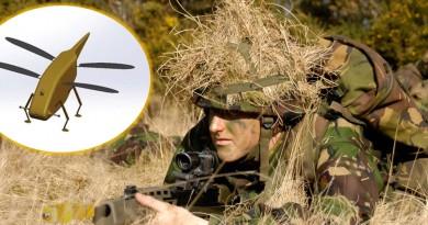 英軍反恐新武器 微型蜻蜓無人機潛入敵陣偵察