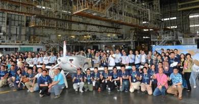 香港史上首架自行組裝飛機 香港起飛號踏上 55000 公里長征