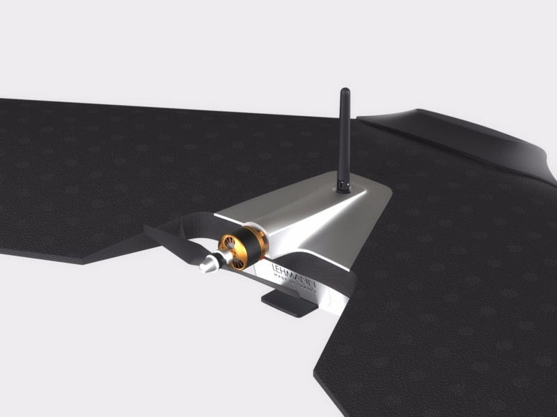 Lehmann Aviation L-A 系列無人機由機身後方的單一電動推進器驅動。