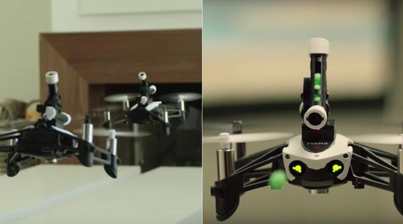 Parrot Mambo 無人機彈珠互射空中對戰