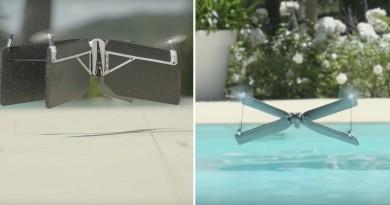 X 翼無人機 Parrot Swing 起飛!旋翼升降•定翼滑翔能力大結合